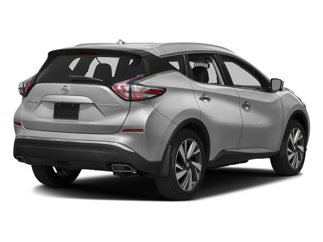 Brilliant Silver Metallic 2017 Nissan Murano Pictures Murano 2017.5 FWD Platinum photos rear view