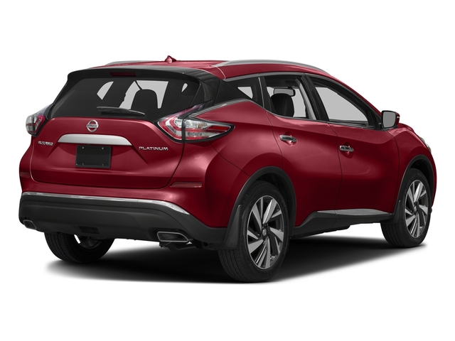Cayenne Red Metallic 2017 Nissan Murano Pictures Murano 2017.5 AWD Platinum photos rear view