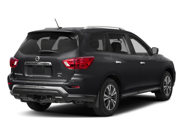 Magnetic Black Metallic 2017 Nissan Pathfinder Pictures Pathfinder Utility 4D SL 2WD V6 photos rear view