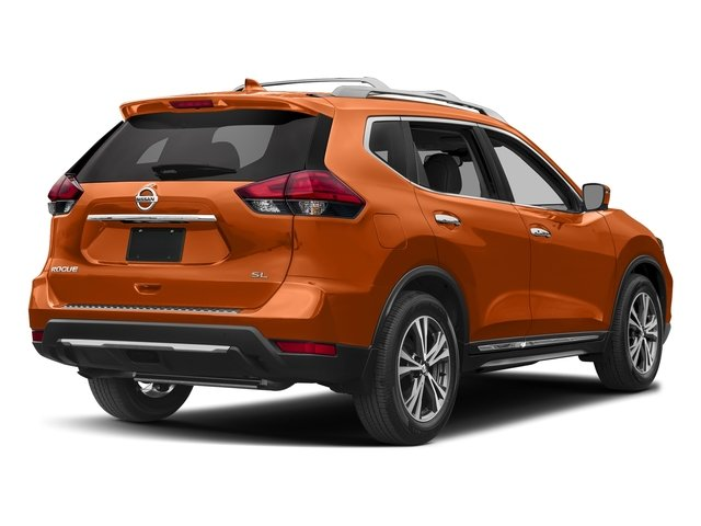 Monarch Orange 2017 Nissan Rogue Pictures Rogue Utility 4D SL AWD I4 photos rear view