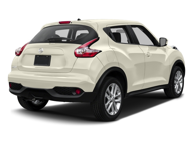 Pearl White 2017 Nissan JUKE Pictures JUKE Utility 4D S 2WD I4 Turbo photos rear view