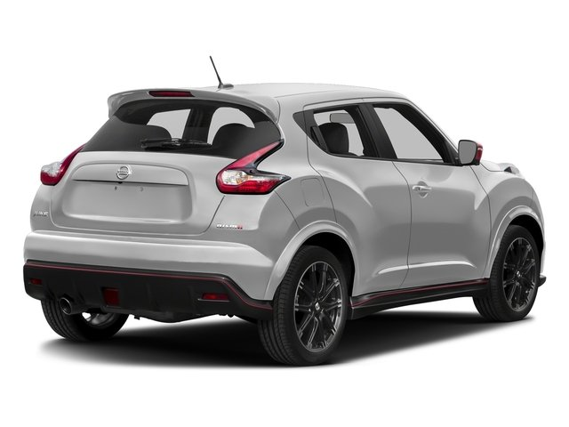 Brilliant Silver 2017 Nissan JUKE Pictures JUKE FWD NISMO RS photos rear view