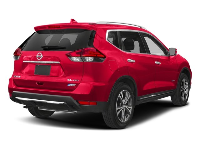 Palatial Ruby 2017 Nissan Rogue Pictures Rogue Utility 4D SL 2WD I4 Hybrid photos rear view