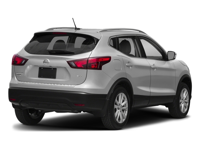 Brilliant Silver 2017 Nissan Rogue Sport Pictures Rogue Sport Utility 4D S AWD photos rear view