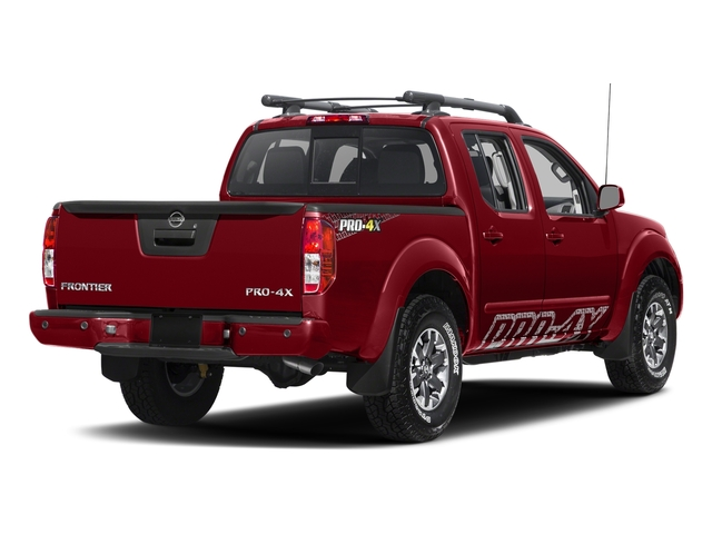Lava Red 2017 Nissan Frontier Pictures Frontier Crew Cab PRO-4X 4WD photos rear view