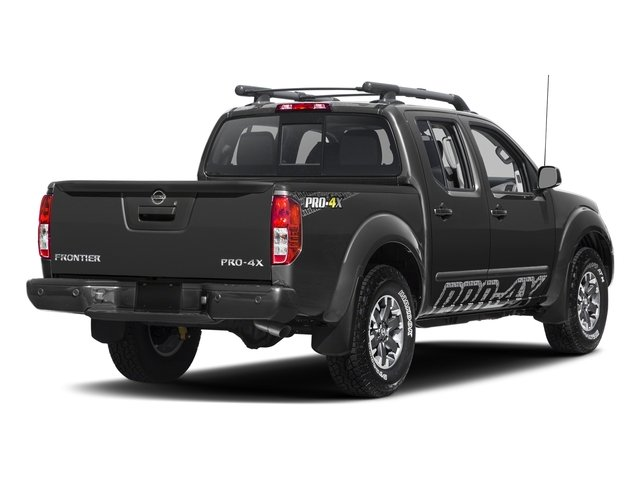 Gun Metallic 2017 Nissan Frontier Pictures Frontier Crew Cab PRO-4X 4WD photos rear view