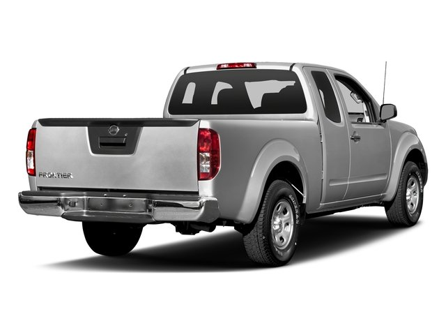 Brilliant Silver 2017 Nissan Frontier Pictures Frontier King Cab S 2WD photos rear view