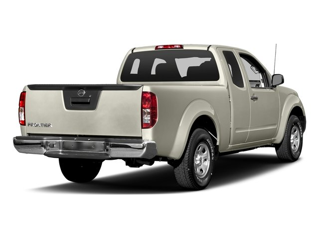 Glacier White 2017 Nissan Frontier Pictures Frontier King Cab S 2WD photos rear view