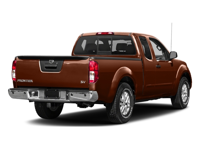 Forged Copper 2017 Nissan Frontier Pictures Frontier King Cab 4x4 SV V6 Auto *Ltd Avail* photos rear view