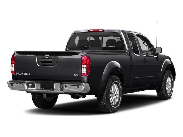 Magnetic Black 2017 Nissan Frontier Pictures Frontier King Cab SV 2WD photos rear view