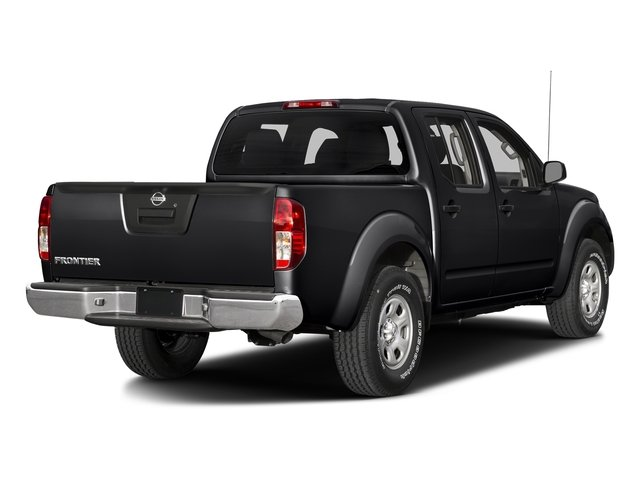 Magnetic Black 2017 Nissan Frontier Pictures Frontier Crew Cab S 4WD photos rear view