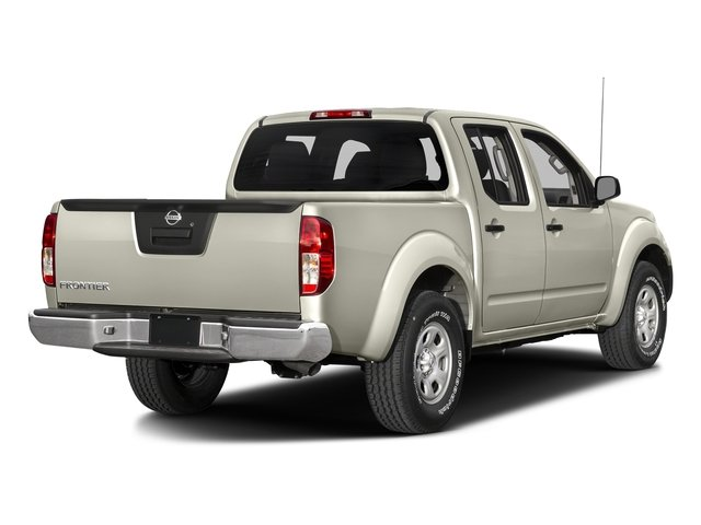 Glacier White 2017 Nissan Frontier Pictures Frontier Crew Cab S 4WD photos rear view