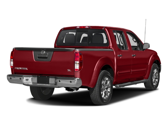 Lava Red 2017 Nissan Frontier Pictures Frontier 2017.5 Crew Cab 4x4 SL Auto photos rear view