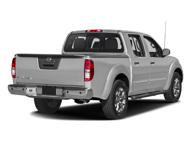 Brilliant Silver 2017 Nissan Frontier Pictures Frontier Crew Cab 4x4 SL Auto Long Bed *Ltd Avail* photos rear view