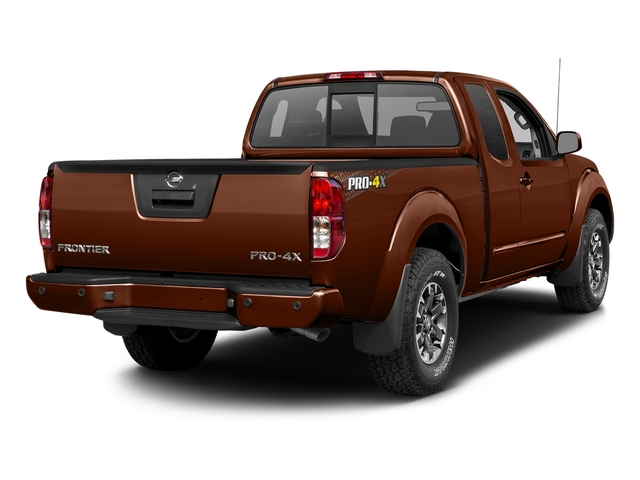 Forged Copper 2017 Nissan Frontier Pictures Frontier King Cab 4x4 PRO-4X Auto photos rear view