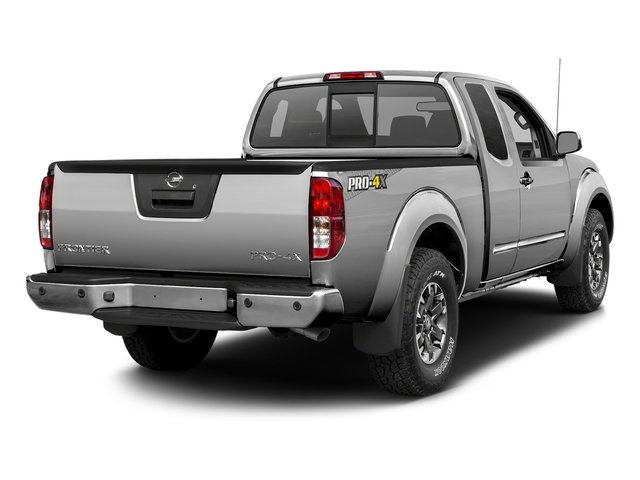 Brilliant Silver 2017 Nissan Frontier Pictures Frontier King Cab 4x4 PRO-4X Auto photos rear view