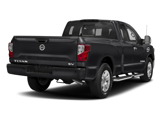 Magnetic Black 2017 Nissan Titan Pictures Titan King Cab SV 2WD photos rear view