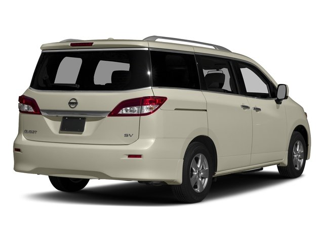 Pearl White 2017 Nissan Quest Pictures Quest Wagon 5D S V6 photos rear view