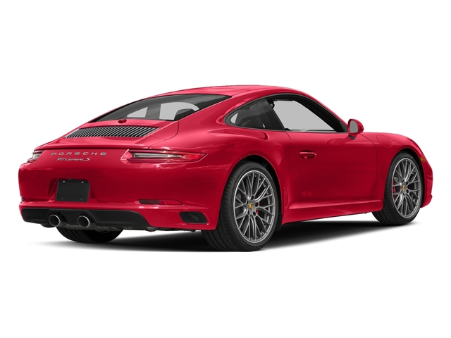 Guards Red 2017 Porsche 911 Pictures 911 Carrera S Coupe photos rear view
