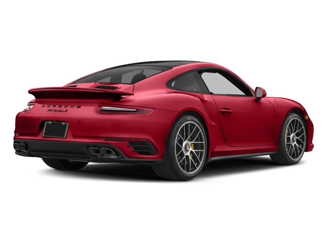 Carmine Red 2017 Porsche 911 Pictures 911 Turbo S Coupe photos rear view