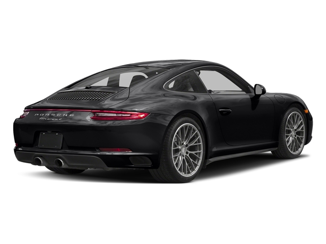 Black 2017 Porsche 911 Pictures 911 Carrera 4 Coupe photos rear view