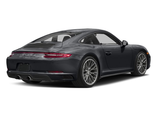 Graphite Blue Metallic 2017 Porsche 911 Pictures 911 Carrera 4 Coupe photos rear view