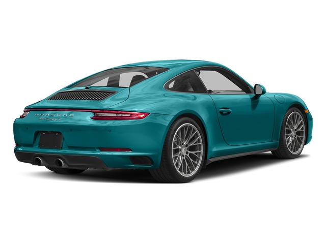 Miami Blue 2017 Porsche 911 Pictures 911 Carrera 4 Coupe photos rear view
