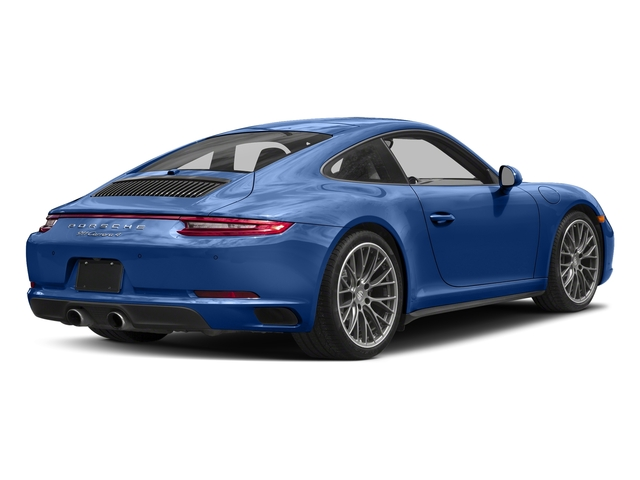 Sapphire Blue Metallic 2017 Porsche 911 Pictures 911 Carrera 4 Coupe photos rear view