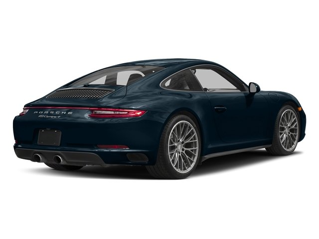Night Blue Metallic 2017 Porsche 911 Pictures 911 Carrera 4 Coupe photos rear view