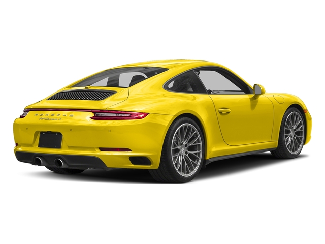 Racing Yellow 2017 Porsche 911 Pictures 911 Carrera 4 Coupe photos rear view