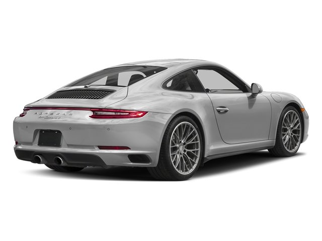 GT Silver Metallic 2017 Porsche 911 Pictures 911 Carrera 4 Coupe photos rear view