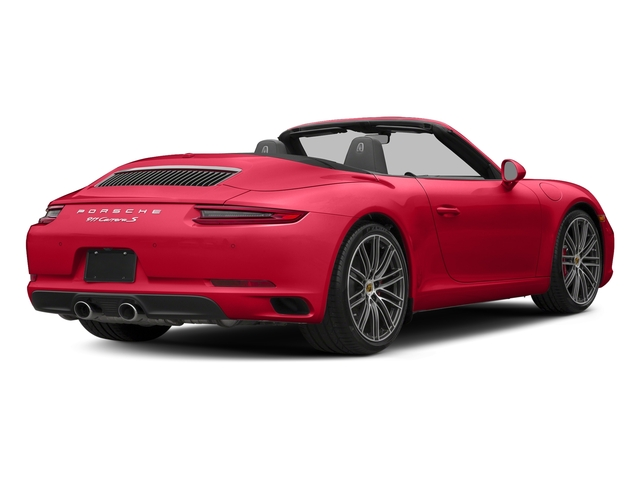Guards Red 2017 Porsche 911 Pictures 911 Carrera S Cabriolet photos rear view