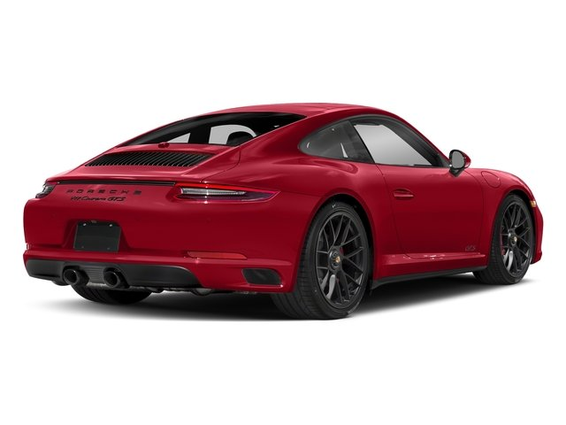 Carmine Red 2017 Porsche 911 Pictures 911 Carrera GTS Coupe photos rear view