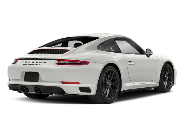 White 2017 Porsche 911 Pictures 911 Carrera GTS Coupe photos rear view