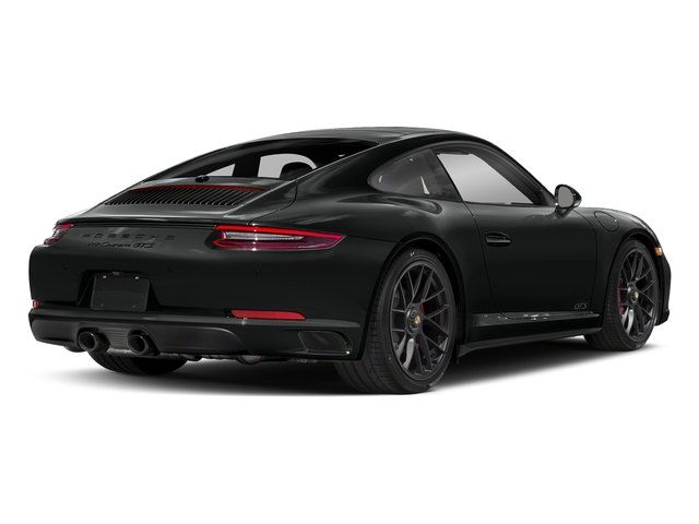 Jet Black Metallic 2017 Porsche 911 Pictures 911 Carrera GTS Coupe photos rear view