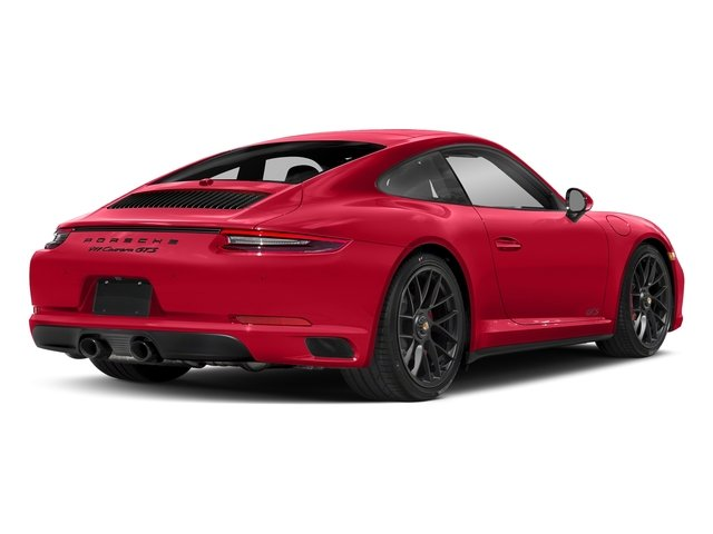 Guards Red 2017 Porsche 911 Pictures 911 Carrera GTS Coupe photos rear view