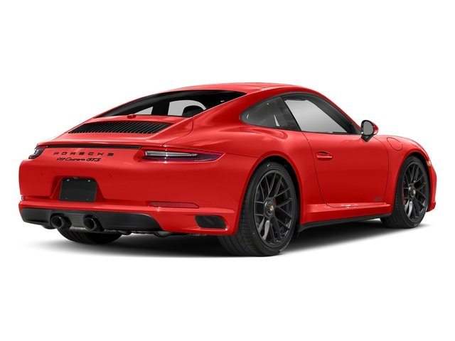 Lava Orange 2017 Porsche 911 Pictures 911 Carrera GTS Coupe photos rear view