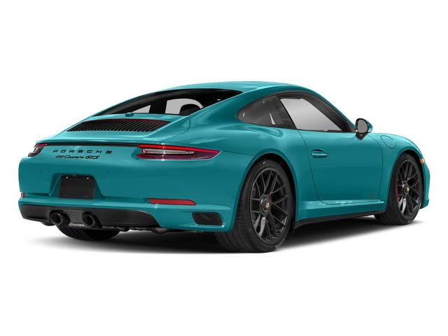 Miami Blue 2017 Porsche 911 Pictures 911 Carrera GTS Coupe photos rear view