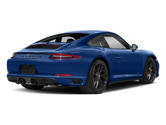 Sapphire Blue Metallic 2017 Porsche 911 Pictures 911 Carrera GTS Coupe photos rear view