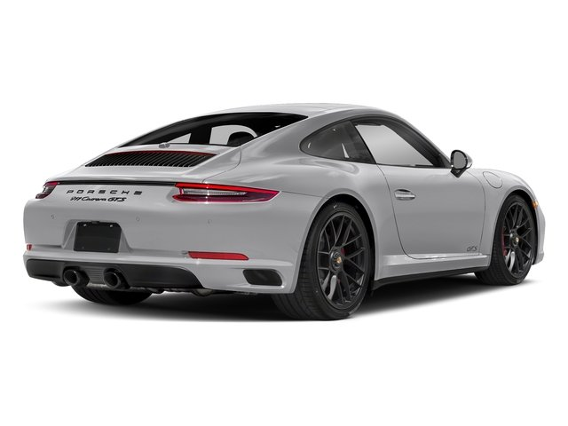 GT Silver Metallic 2017 Porsche 911 Pictures 911 Carrera GTS Coupe photos rear view