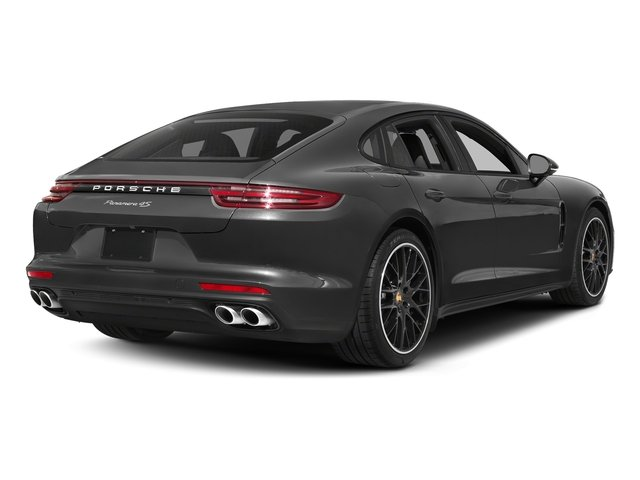 Volcano Grey Metallic 2017 Porsche Panamera Pictures Panamera 4S Executive AWD photos rear view