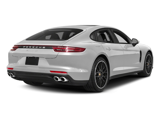 Carrara White Metallic 2017 Porsche Panamera Pictures Panamera 4S Executive AWD photos rear view