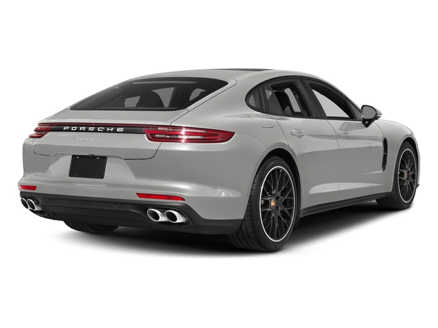 Chalk 2017 Porsche Panamera Pictures Panamera Hatchback 4D 4 AWD V6 Turbo photos rear view