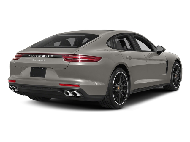 Agate Grey Metallic 2017 Porsche Panamera Pictures Panamera 4S Executive AWD photos rear view