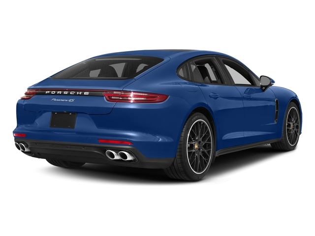 Sapphire Blue Metallic 2017 Porsche Panamera Pictures Panamera Hatchback 4D 4 AWD V6 Turbo photos rear view