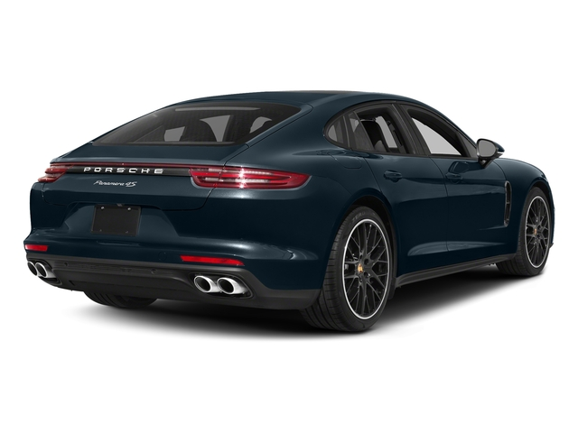 Night Blue Metallic 2017 Porsche Panamera Pictures Panamera 4S Executive AWD photos rear view