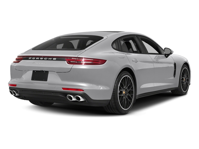 GT Silver Metallic 2017 Porsche Panamera Pictures Panamera 4S Executive AWD photos rear view