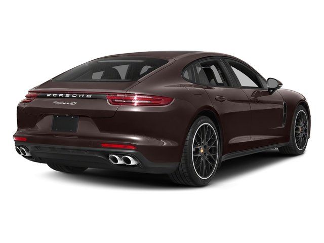 Mahogany Metallic 2017 Porsche Panamera Pictures Panamera 4S Executive AWD photos rear view