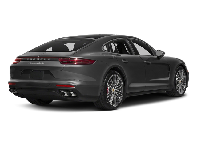 Volcano Grey Metallic 2017 Porsche Panamera Pictures Panamera Turbo Executive AWD photos rear view