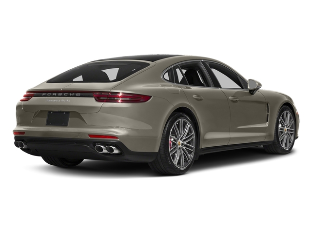 Palladium Metallic 2017 Porsche Panamera Pictures Panamera Turbo Executive AWD photos rear view